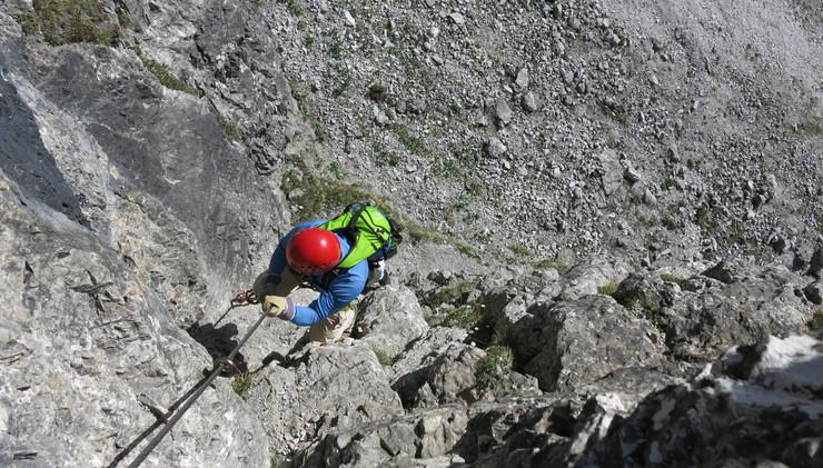 Tielblicke am Ochsenwand Klettersteig.JP