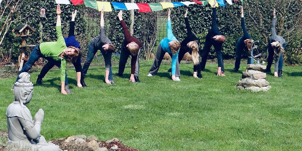 Yogadag in Oberlangen (Duitsland)