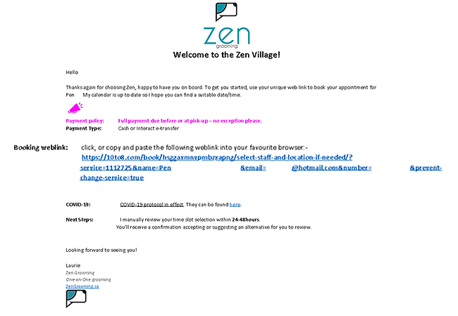 Zen Grooming_ Book your very first appoi