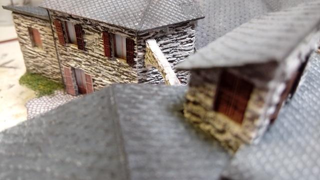 villaggio in pietra