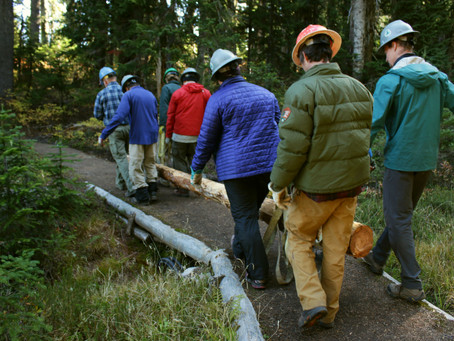 Volunteering on the Pacific Crest Trail