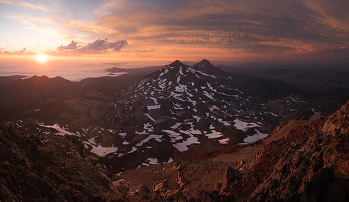 """South Sister Summit"""