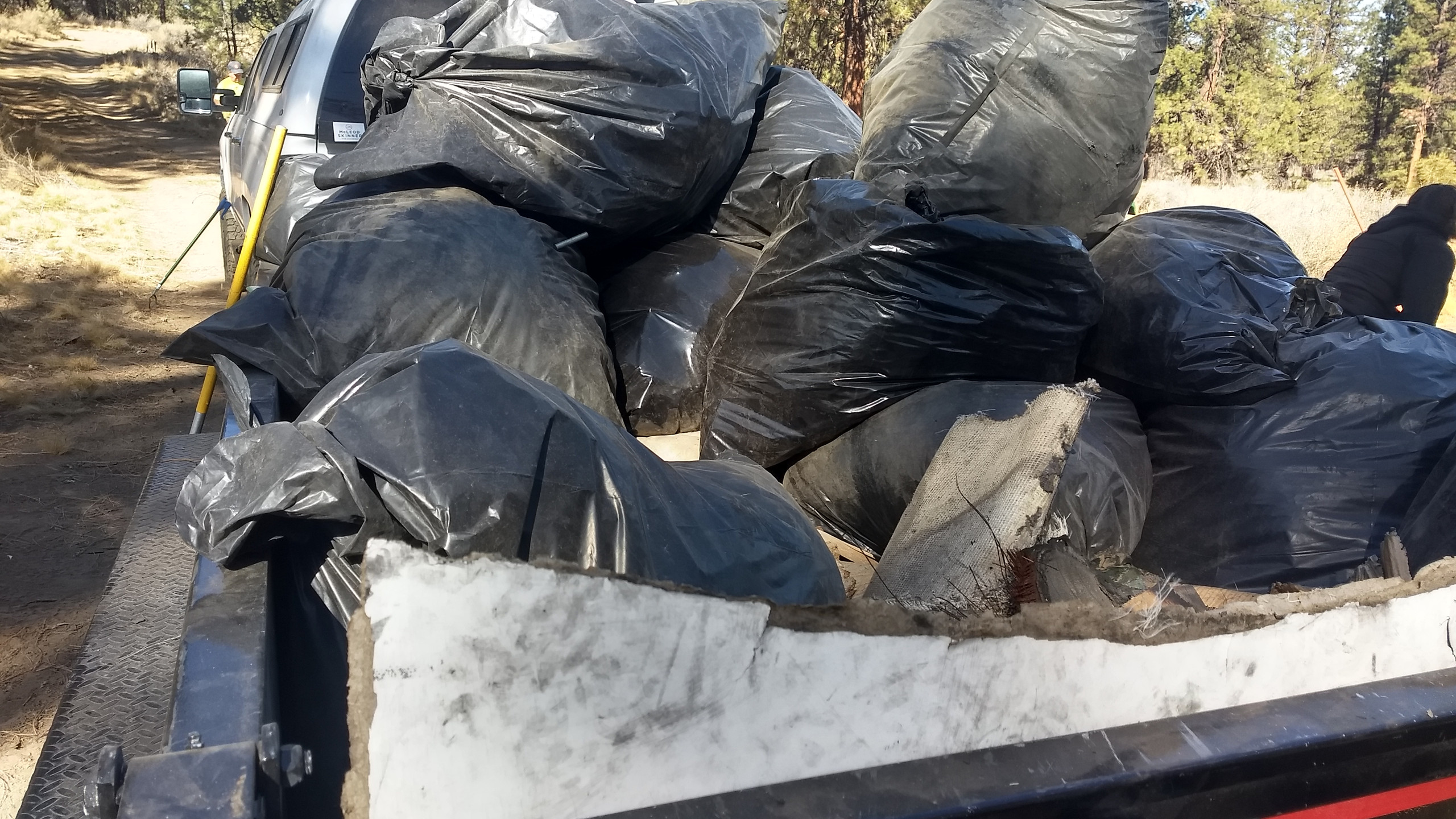 Trash Dumped on China Hat Road
