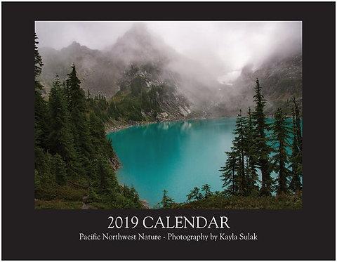 2019 Calendar -- Pacific Northwest Nature