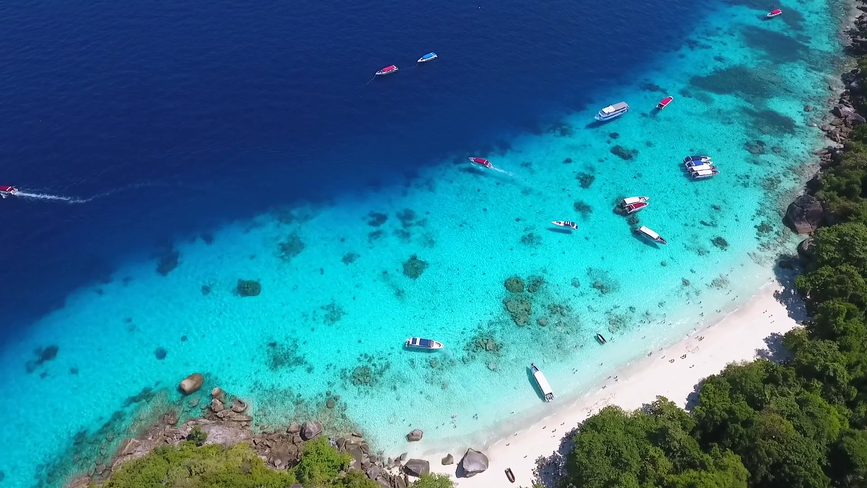 videoblocks-aerial-view-on-paradise-trop