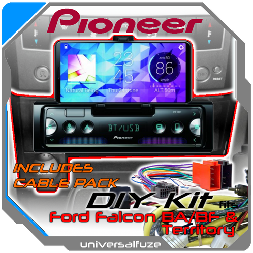 Ford       BA    BF Territory Pioneer Audio unit upgrade package