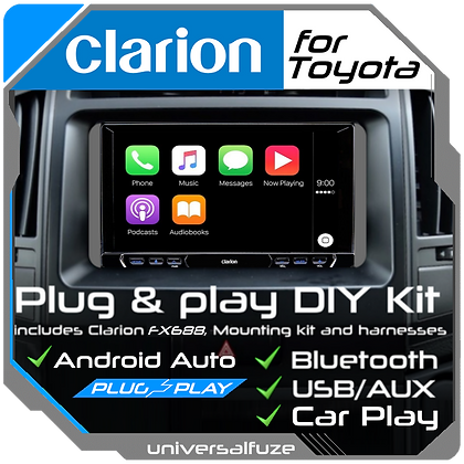 Clarion Bluetooth Car Play/Android Auto upgrade pack for Toyota