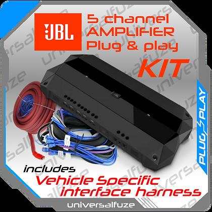 JBL 5 Channel Amplifier kit