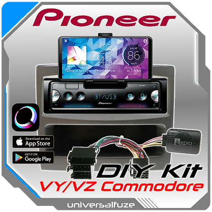 Holden VY/VZ Commodore Pioneer Audio unit upgrade package