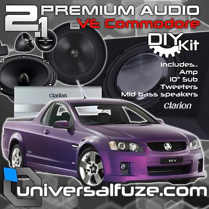 Holden Clarion 2.1 Subwoofer Speaker DIY Pack