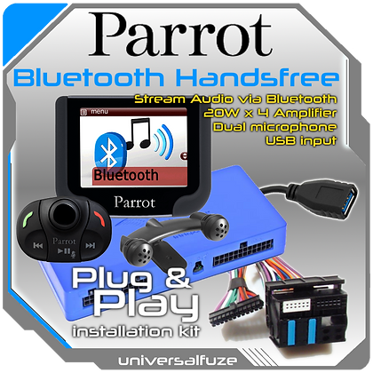 Parrot MKi 9200 Multimedia Upgrade Kit Plug and Play