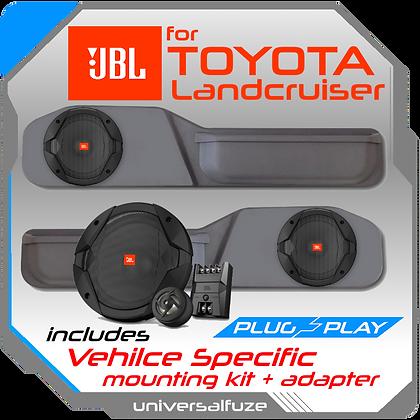 JBL Toyota 70 Series Landcruiser front doorpack