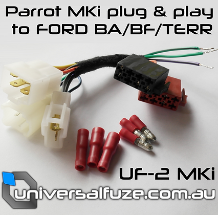 UF-2 Plug and play adapter fits Parrot Handsfree to Ford BA/BF/Territory