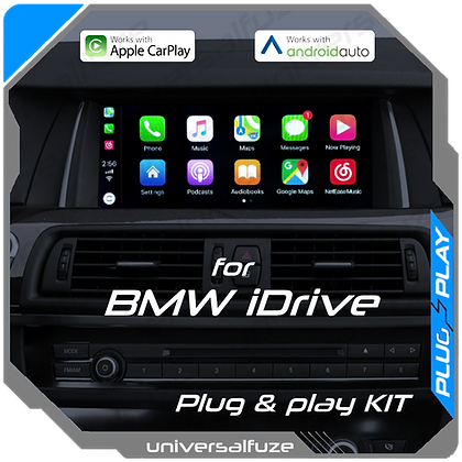 CarPlay / Android Auto / Mirroring 3 in 1 integration for BMW iDrive NBT system