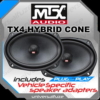 MTX TX4 6x9 speaker kit