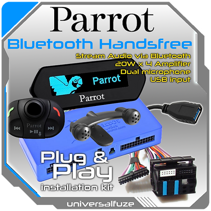 Parrot MKi9100 Bluetooth Multimedia upgrade Kit Plug and Play