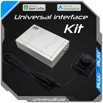 Universal CarPlay/Android Auto adapter with HDMI and RCA AV output for any car m