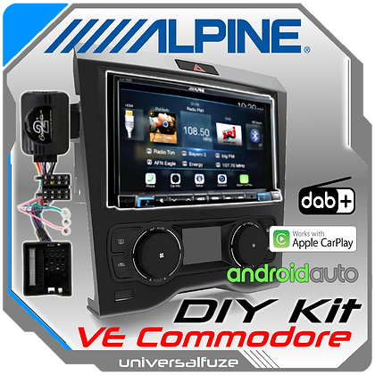 "Alpine 7"" VE Commodore Car Play Android Auto kit"