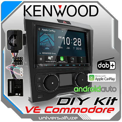 "Kenwood 7"" VE Commodore wireless Car Play Android Auto kit"