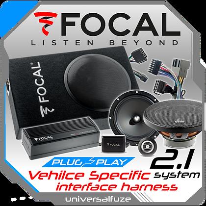 Focal Sub Amp Speaker 2.1 package