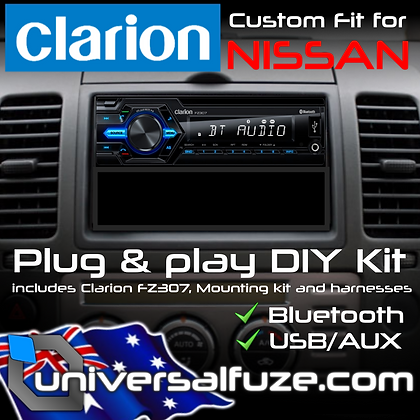 Clarion Bluetooth USB upgrade pack for Nissan