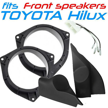 Component speaker mounting kit fits Toyota Hilux