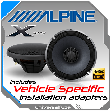 "ALPINE 6.5"" X-S65 Rear Speaker kit"