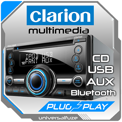 Clarion CD USB AUX Bluetooth 45Wx4 Source Unit