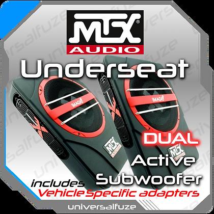 MTX Audio DUAL Underseat Subwoofer
