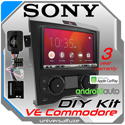 """Sony 7"""" VE Commodore Car Play Android Auto kit"""