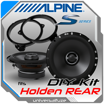 Alpine Type S rear speaker pack Holden Commodore