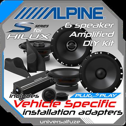 TOYOTA Hilux Ultimate Alpine Speaker upgrade pack