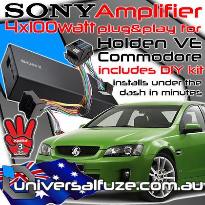 Sony 4x100 Watt Holden plug & play amplifier