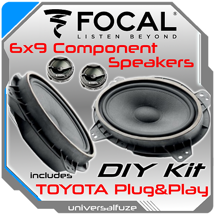 Focal Component 6x9 kit for Toyota Vehicles