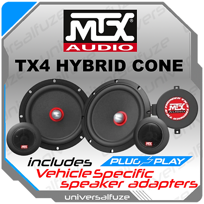 MTX TX4 front component speaker kit