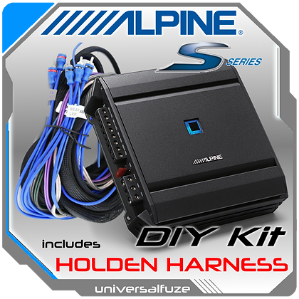 Alpine S-A32F 4 Chan Amp DIY KIT for Holden Commodore
