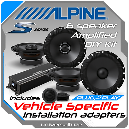Ultimate Alpine Speaker upgrade pack