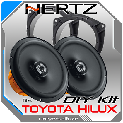 """TOYOTA HILUX REAR HERTZ 6.5"""" Speaker Pack"""