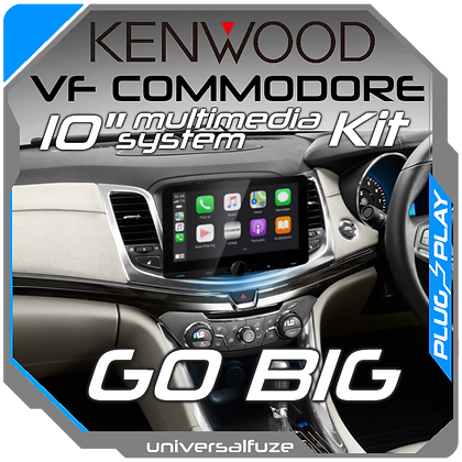 "Kenwood 10"" VF Commodore Car Play Android Auto DIY kit"