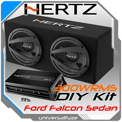 "Hertz Dieci Ford Falcon Dual 10"" Subwoofer"
