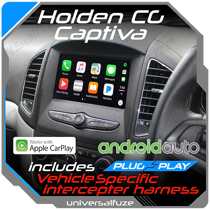Car play/Android Auto upgrade for CG Holden Captiva DIY