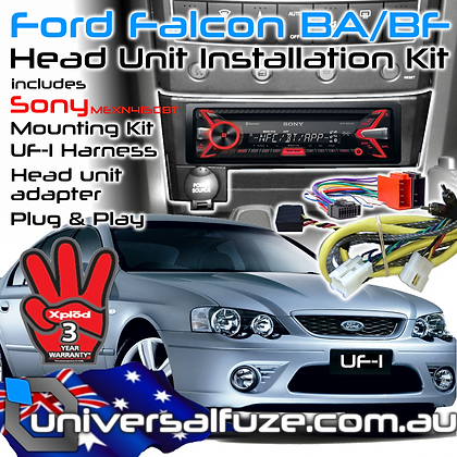 FORD/SONY Bluetooth CD USB upgrade kit