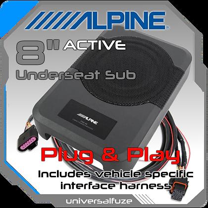 Alpine Underseat Subwoofer Plug& Play