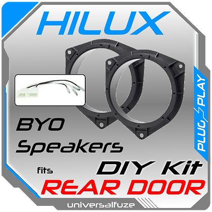 Rear speaker mounting kit fits Toyota Hilux