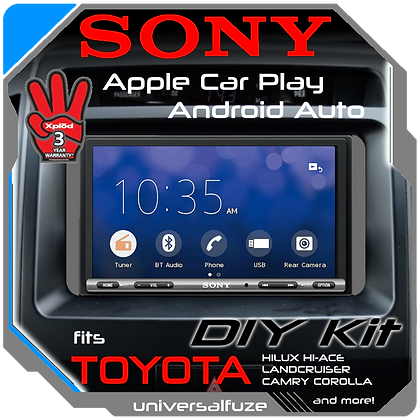 "Sony 7"" Touchscreen Car Play Android Auto system for Toyota"