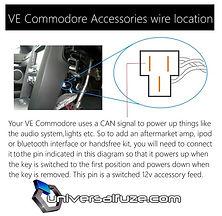 Ve Commodore accessories wire location.JPG