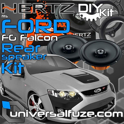 Hertz Speaker upgrade kit fits FORD FG Falcon Rear