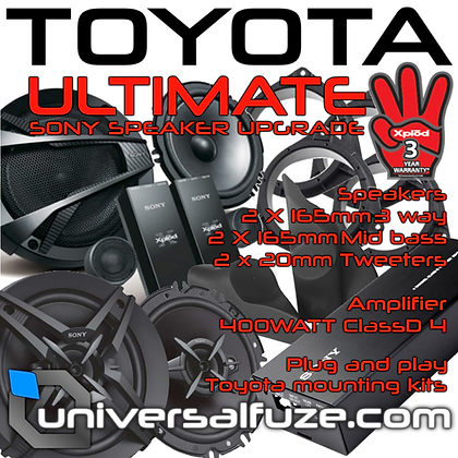 TOYOTA Hilux Ultimate Speaker upgrade pack
