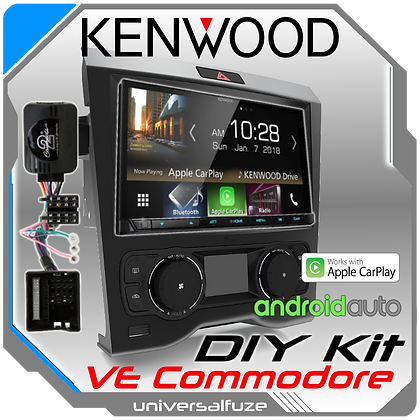 "Kenwood 7"" VE Commodore Car Play Android Auto kit"