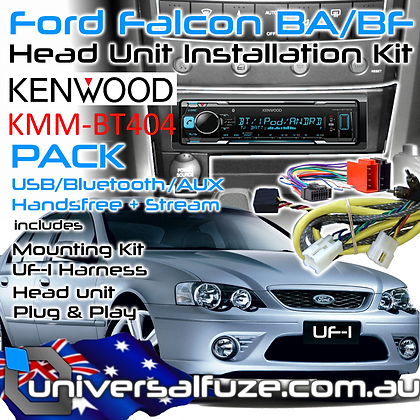 FORD/KENWOOD Bluetooth USB upgrade kit